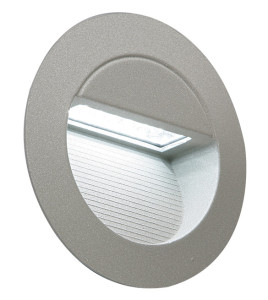 circular LED recessed wall light