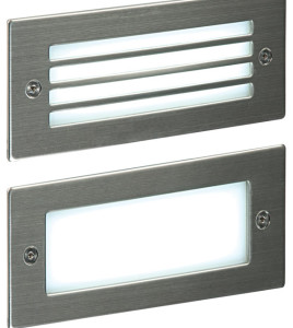 small rectangular LED wall light