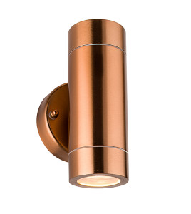 Palin 2lt wall Light - copper lacquer