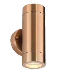 Odyssey 2lt wall IP44 35W - copper plate