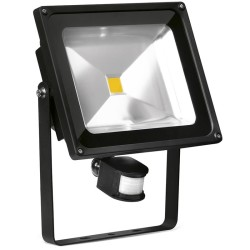 50 Watt Adjustable LED Floodlight with PIR Sensor