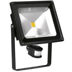 50 Watt Adjustable LED Floodlight with PIR Sensor